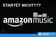 """Amazon Music: """"Ein Fehler ist aufgetreten. Bitte versuchen Sie es später noch einmal"""""""