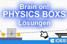 Brain On! Physics Boxs Lösung aller Level