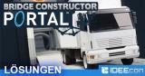 Bridge Constructor Portal Lösung aller Level