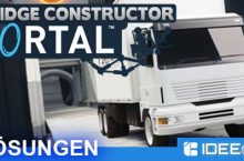 Bridge Constructor Portal Lösung aller Level