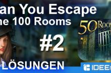 Can You Escape The 100 Rooms 2 Lösung aller Level