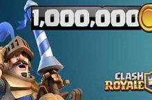 Clash Royale: 1 Millionen Goldmünzen