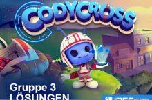 Codycross Gruppe 3 Lösungen & Antworten der Rätsel