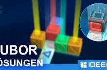 Cubor Lösungen aller Level & Ebenen
