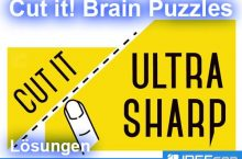 Cut It: Brain Puzzles Lösung aller Level