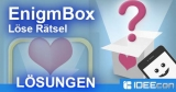 EnigmBox Lösung mit Antworten aller Rätsel-Level