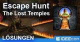 Escape Hunt – The Lost Temples Lösung aller Level