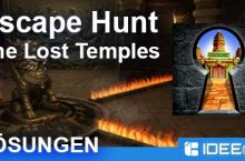 Escape Hunt – The Lost Temples Lösung aller Level