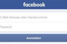 Facebook EMail und Passwort vergessen – was tun?