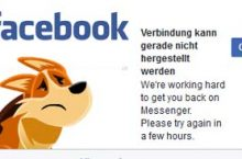 Facebook: Verbindung kann gerade nicht hergestellt werden
