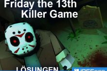 Friday the 13th Killer Puzzle Lösung aller Episoden & Level