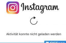 Instagram Aktivitäten entfernt!! Für immer weg?