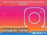 Instagram: Leider ist etwas schiefgelaufen. Bitte versuche…