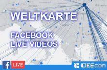 Facebook Live Videos finden – Livemap als Weltkarte