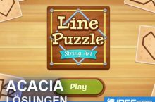 Line Puzzle String Art ACACIA Lösungen aller Level