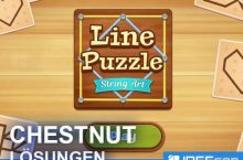 Line Puzzle String Art CHESTNUT Lösungen aller Level