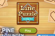 Line Puzzle String Art PINE Lösungen aller Level