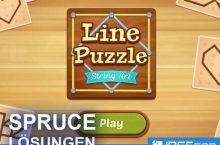 Line Puzzle String Art SPRUCE Lösungen aller Level