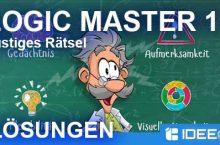 Logic Master 1 Lösung aller Level – Lustiges Rätsel Mind Twist