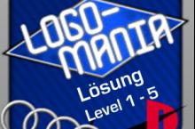 LogoMania Lösung Level 1, 2, 3, 4, 5 für Android und iOS