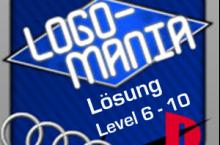 LogoMania Lösung Level 6, 7, 8, 9, 10 für Android und iOS