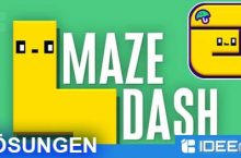 Maze Dash! Lösung aller Level