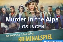 Murder in the Alps Lösung aller Kapitel als Walkthrough