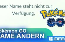 Pokémon GO Spitzamen ändern – so geht´s