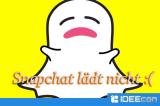Snapchat-Snaps/-Stories laden nicht!