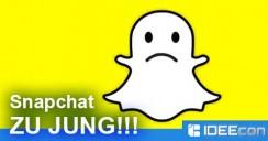 Snapchat Alter falsch eingegeben und gesperrt – was tun?