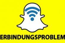 Snapchat: Verbindung nicht möglich – was tun?