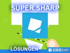 Super Sharp Lösung aller Level als Walkthrough
