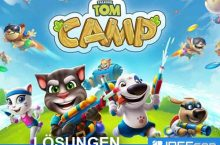 Talking Tom Camp Lösungen Walkthrough auf deutsch