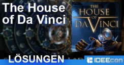 The House of Da Vinci: Lösung aller Kapitel als walkthrough