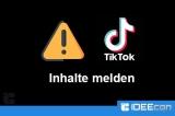TikTok Videos melden wenn unangemessen