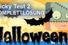 Tricky Test 2 Halloween 2016 Lösung ALLER Level mit Antworten