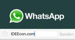 WhatsApp Nachrichten werden nicht gesendet/empfangen