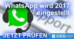 WhatsApp wird 2017 eingestellt – Welche Geräte sind betroffen?
