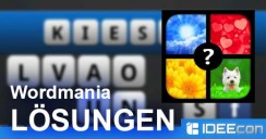 Wordmania Lösung aller Level-Pakete Android und iPhone