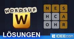 WordsUp Lösungen aller Ebene und Level für iOS & Android