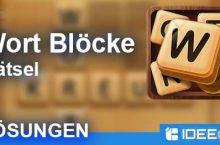 Wort Blöcke Lösung aller Level für Android & iOS