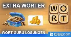 Wort Guru Extra Wörter und Lösungen