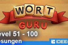 Wort Guru Level 51 bis 100 Lösung – einfache Suche