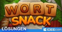 Wort Snack Lösung aller Level für iOS & Android