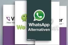 Top 5: WhatsApp Alternativen für iOS, Android & WMP