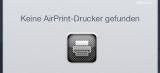 iOS 6xx Problem: AirPrint funktioniert nicht mehr – iPhone, iPad, iPod