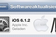 Apple iOS 6.1.2 Update Probleme auf iPhone 5, iPhone 4, iPhone 4s, iPad & iPod
