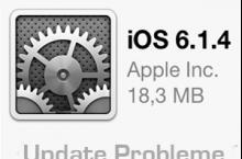Apple iOS 6.1.4 Update Probleme auf iPhone 5, iPhone 4, iPhone 4s, iPad & iPod