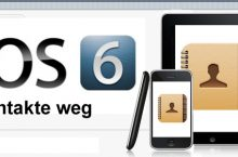 iOS 6xx Problem: Nach Update sind Kontakte weg –  iPhone, iPad, iPod