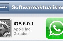 iOS 6.0.1 Update Probleme mit WhatsApp – iPhone & Co.